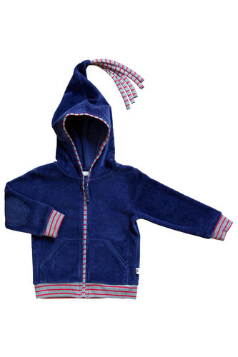 Leela Cotton Nickykapuzenjacke Ocean