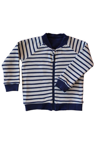Leela Cotton Nickywendejacke Navy